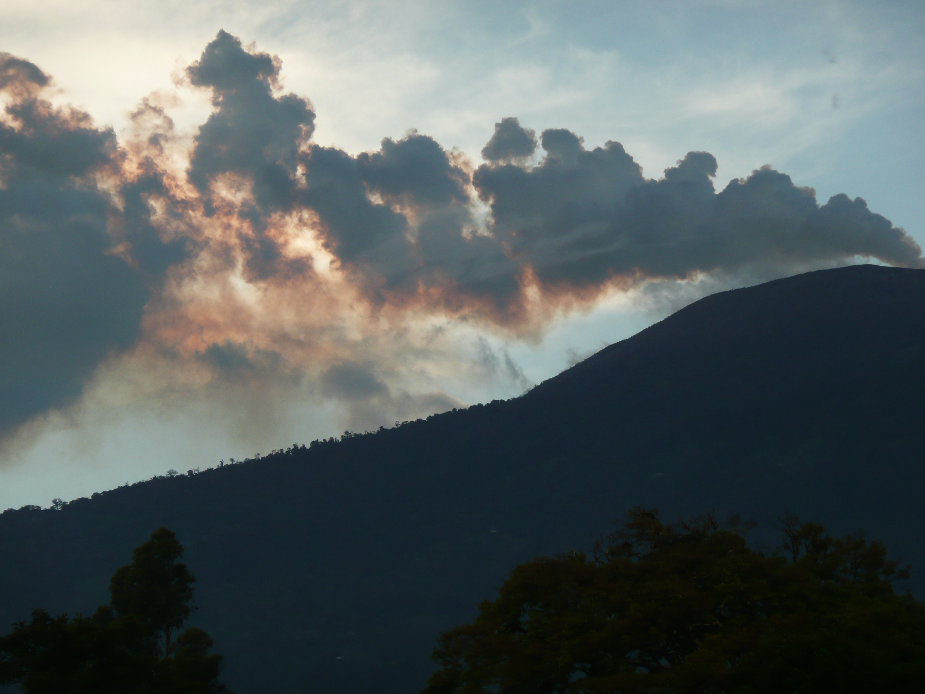the Turrialba Volcano | Birds for Beer