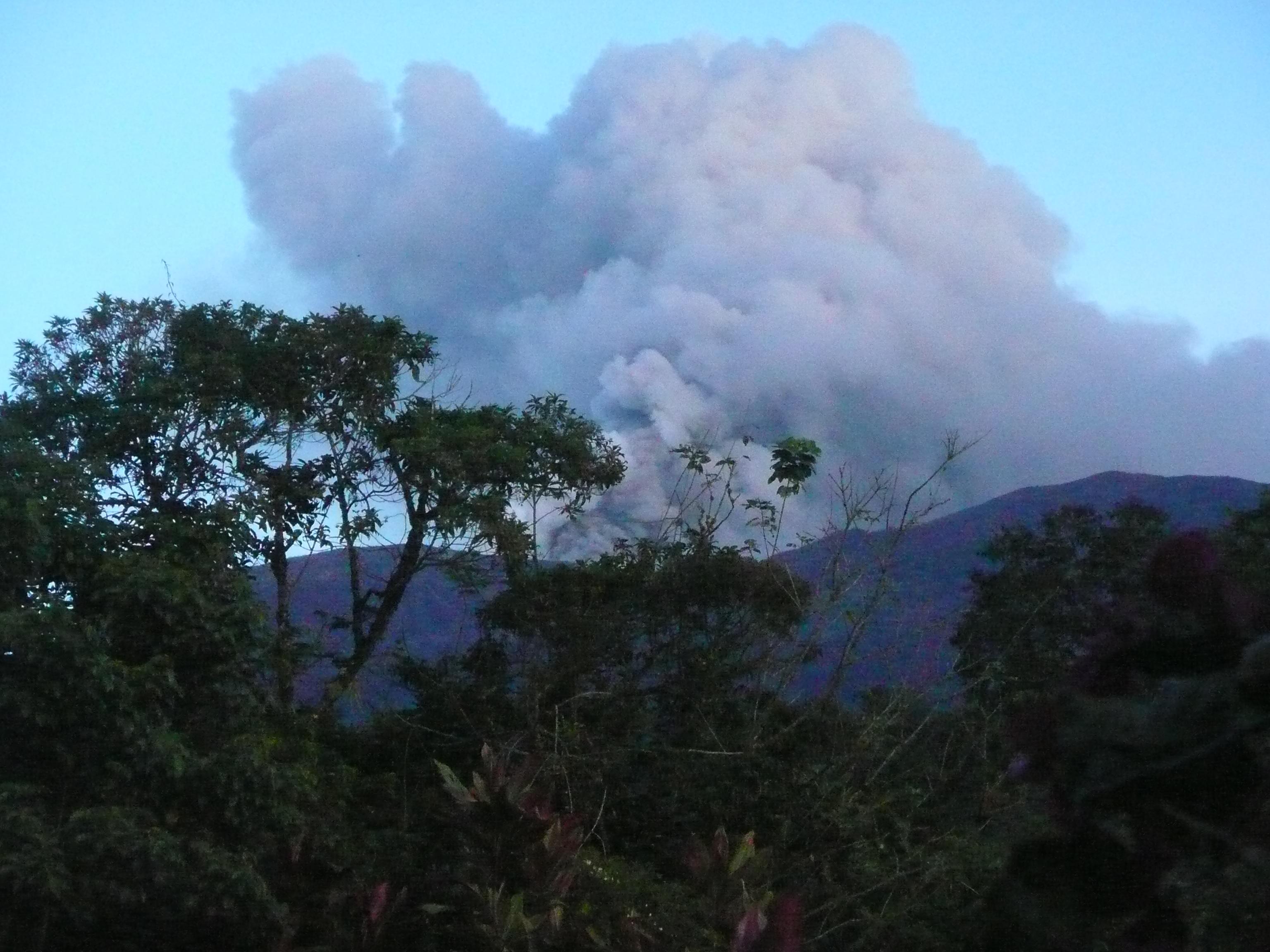 Turrialba Volcano Oct 31 2014