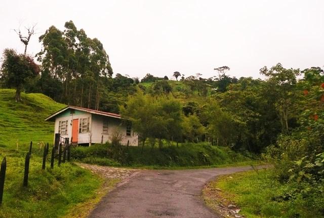 Arriving at Las Virtudes, still visited by the Resplendent Quetzal