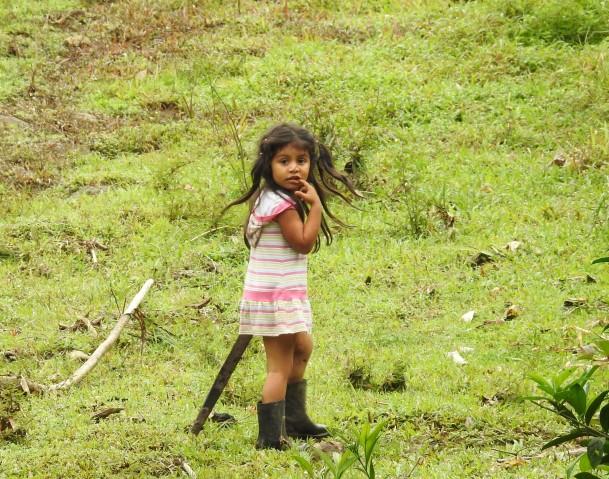 Esperanza, Rio Atirro little girl(3)